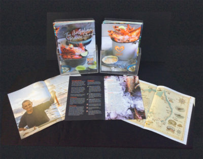 The Great Australian Prawn Story booklet