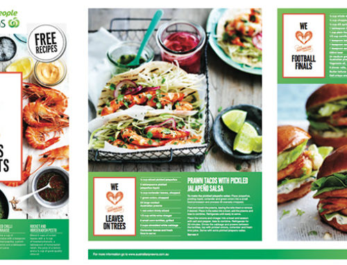 Woolworths Spring Recipe Books